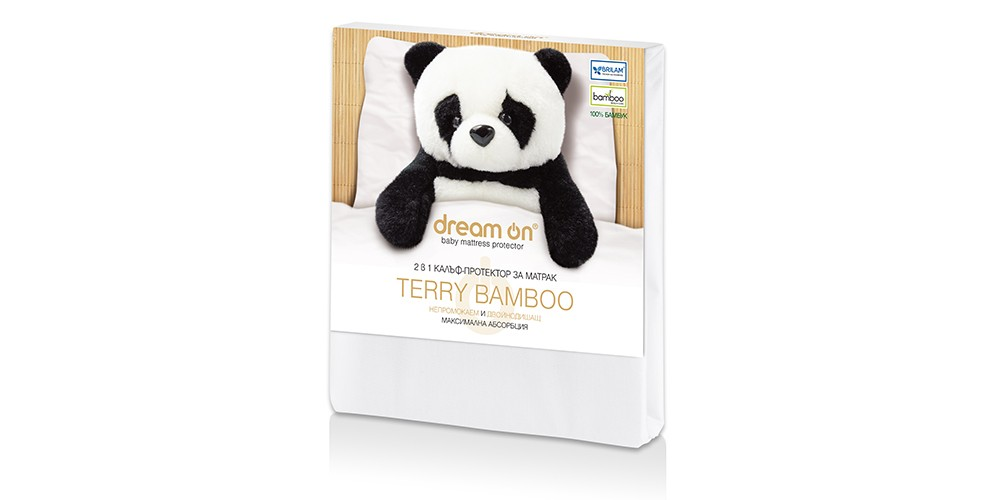 Протектор за матрак Dream ON – TERRY BAMBOO Baby
