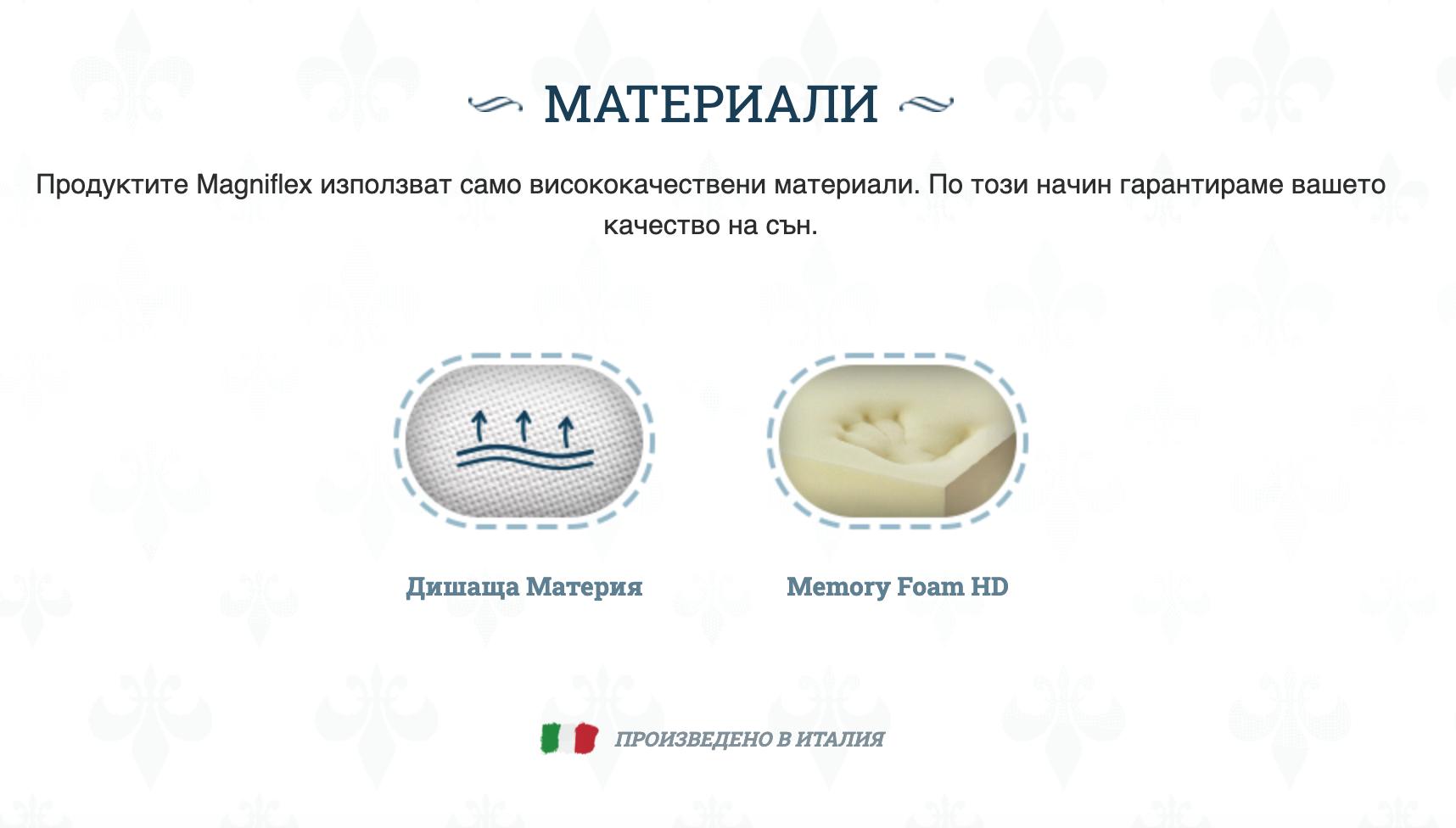 Матрак Magniflex Arte