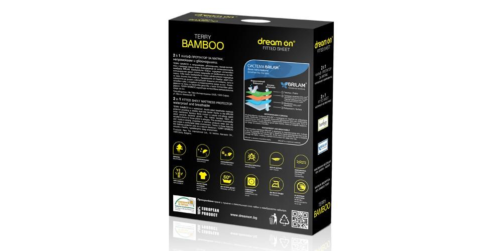 Протектор за матрак Dream ON- TERRY BAMBOO