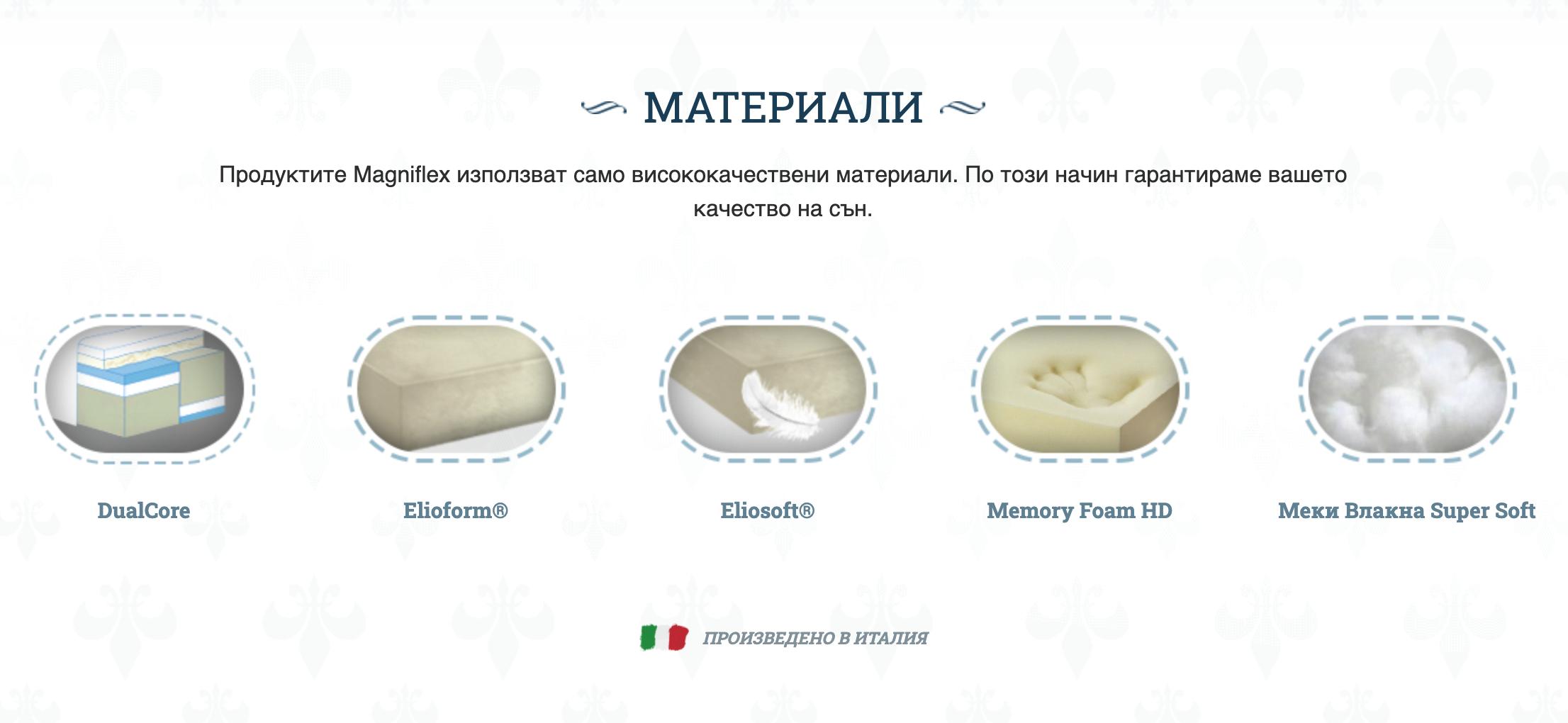 Матрак Magniflex – Armonia Dual